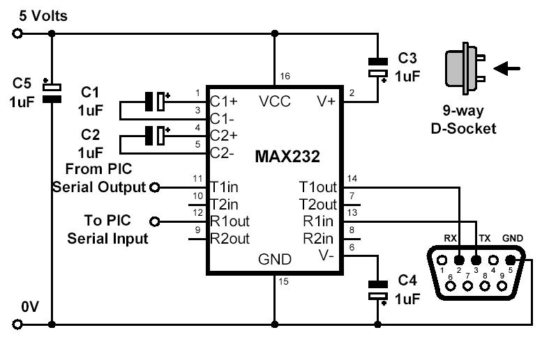 Obstacle Avoider together with Watch moreover Plug additionally MAX232CPE besides Lever Arm Fuel Sender For Classic Vw Beetle 10 65ohm. on 12v circuit diagram