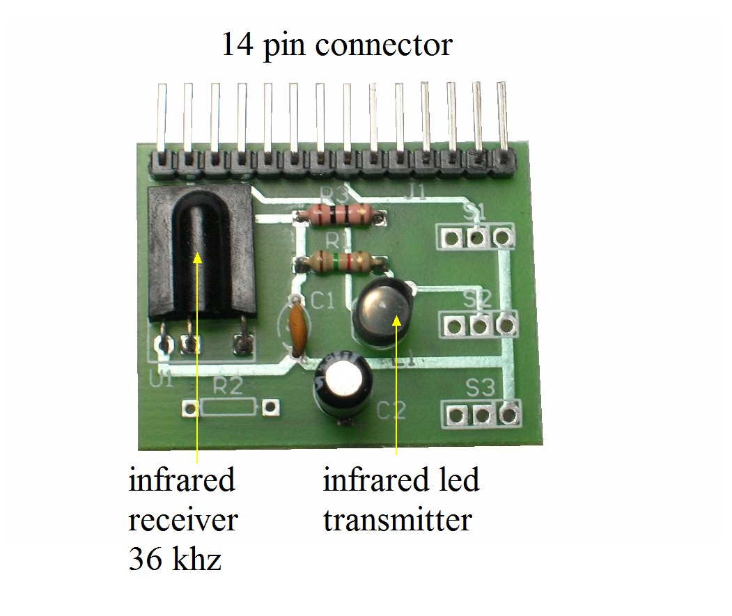 Pic Projects Pwm Functions Bolt 18f2550 System Proximity Infrared Based Circuits Sensor With 3 Modes Of Operation Tmf5360 Tsop1736 Ir Receiver Demodulator 36 Mhz Punto
